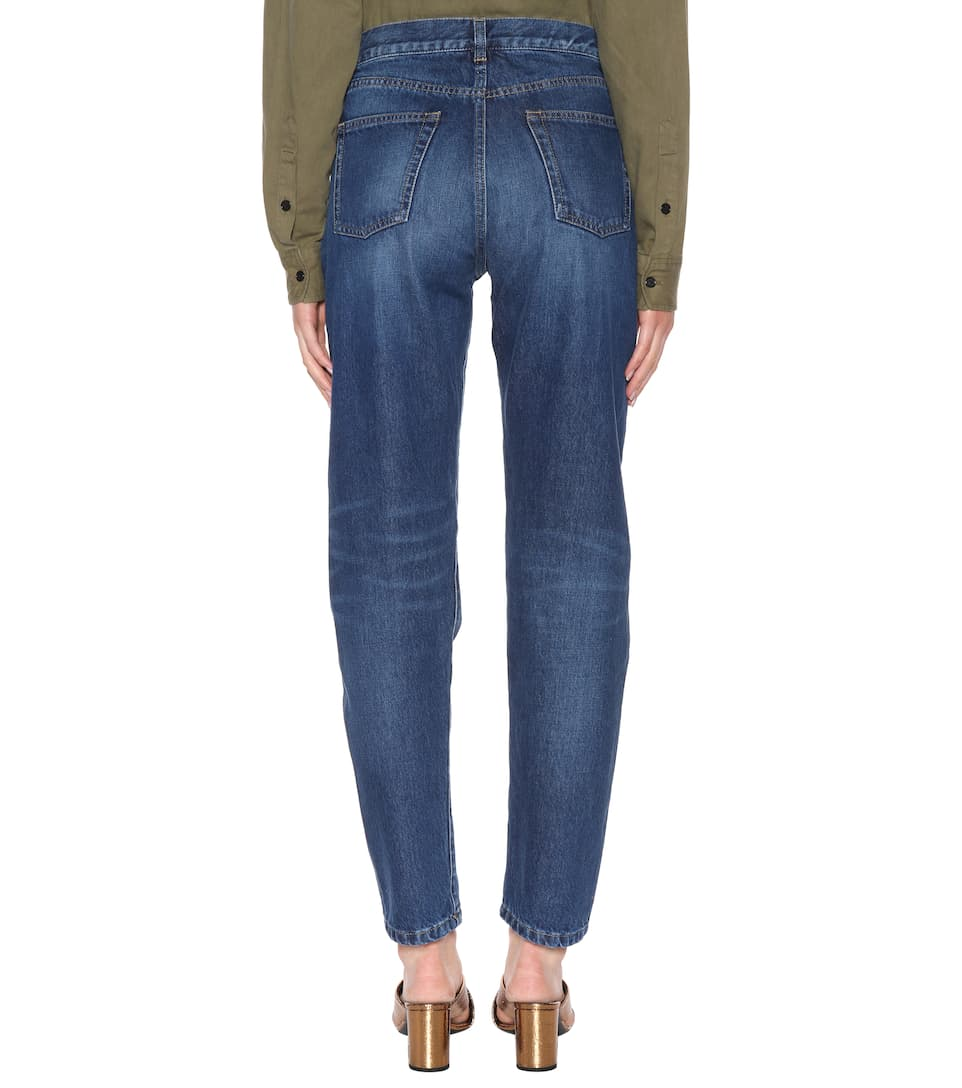 Saint Laurent High-Waist Jeans