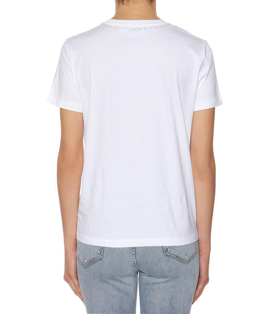 Coach Bedrucktes T-Shirt aus Baumwolle