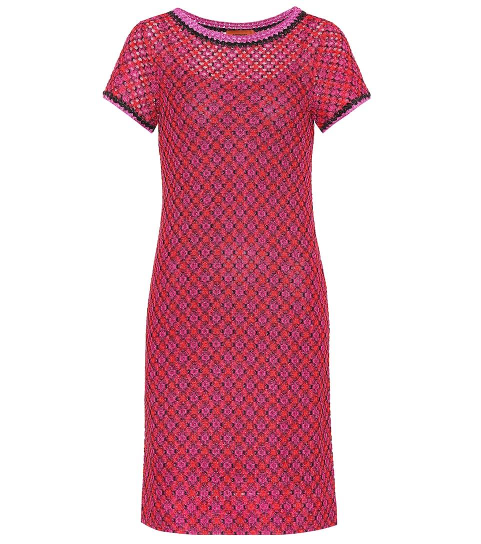 Missoni Kleid aus Seide mit Metallic-Fäden