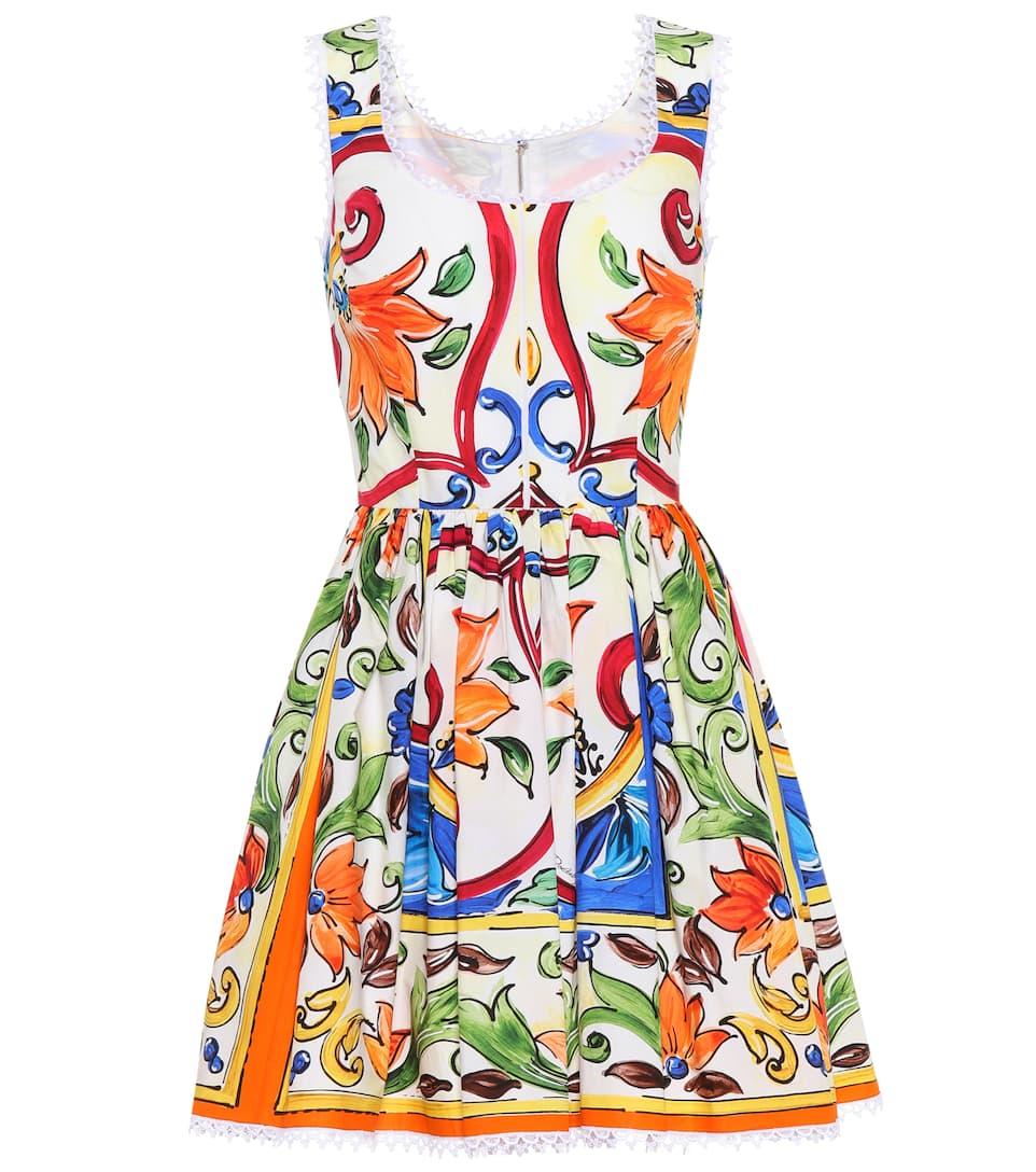 Dolce & Gabbana Minikleid aus Baumwolle