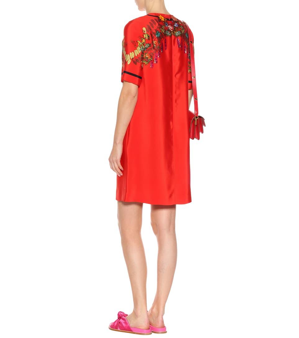 Etro Kleid aus einem Seidengemisch