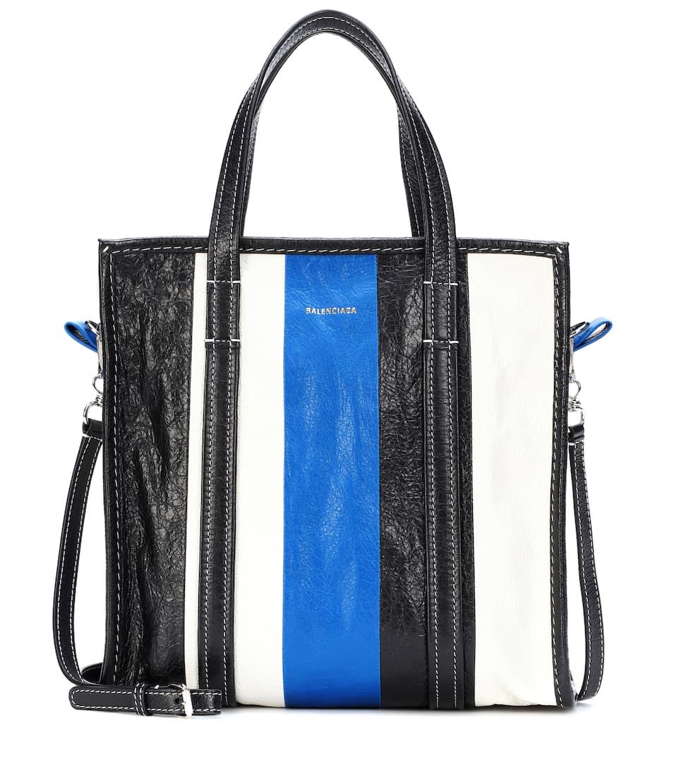 36326e96b Bazar S Leather Shopper | Balenciaga - mytheresa.com