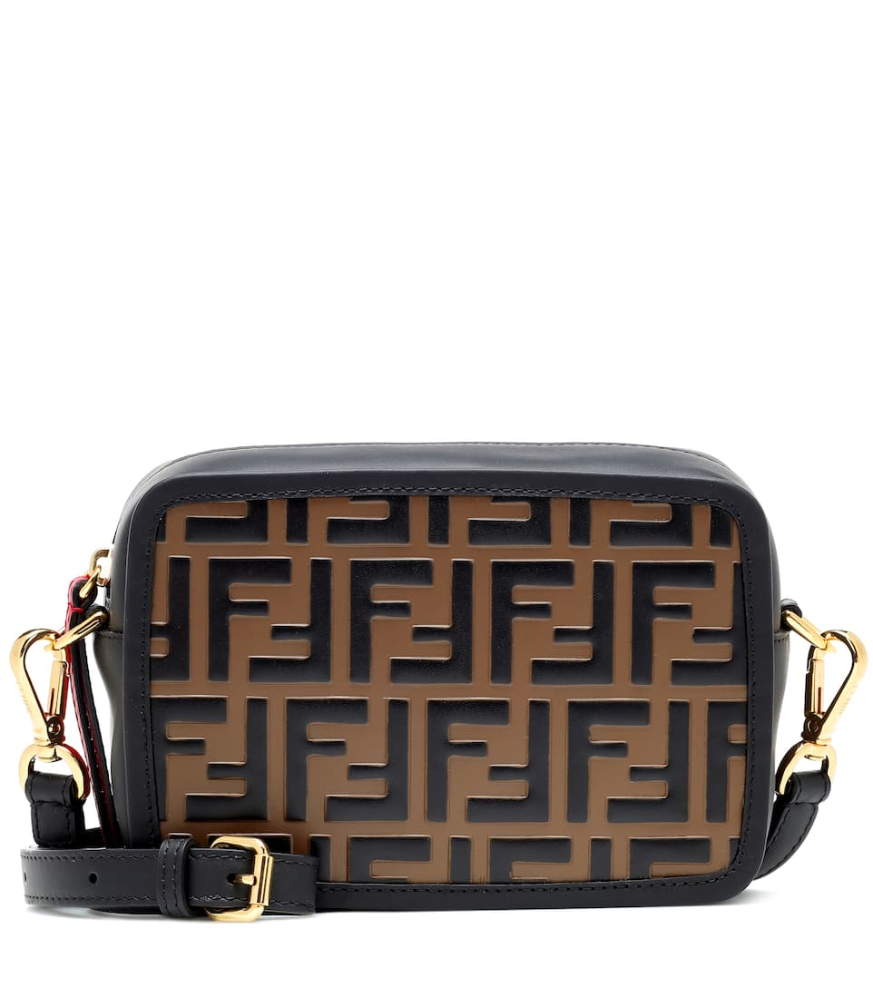 7bb42e2aca Mini Camera Case Leather Shoulder Bag - Fendi | mytheresa.com