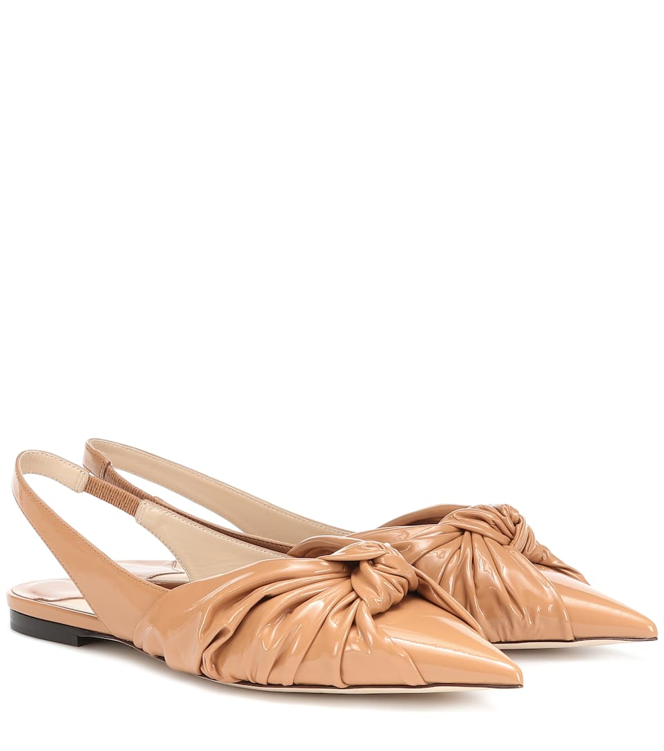218ce75682c Annabell Leather Slingback Flats