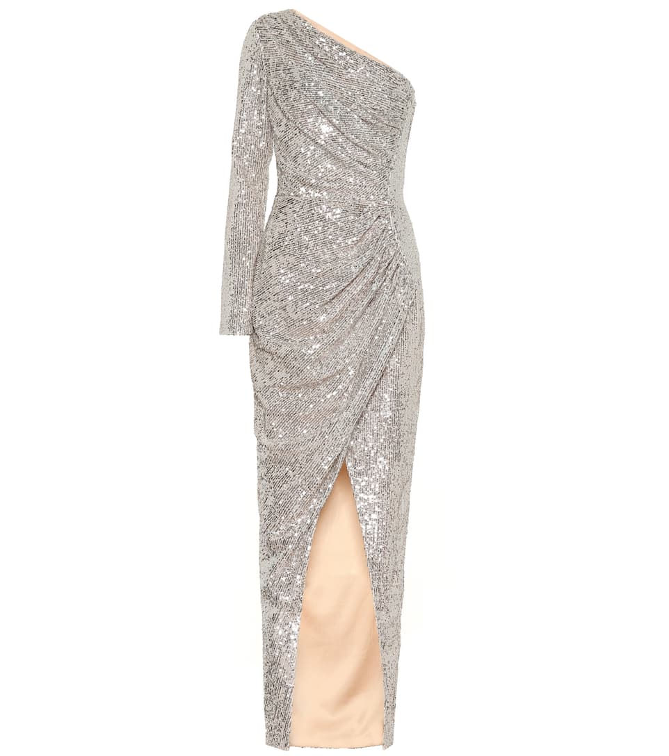 shoulder Artnbsp;p00406042 Gown One Sequined RasarioN° yIgmf7Yb6v
