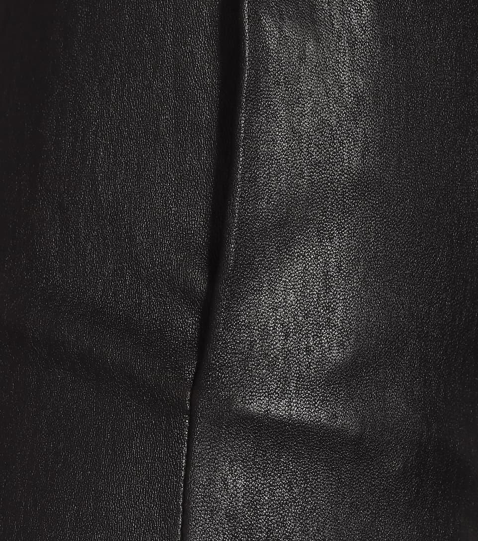 Stouls - Katousha high-rise leather pants