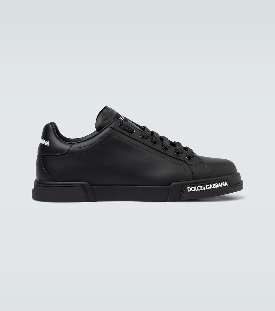 Port Light Leather Sneakers - Dolce