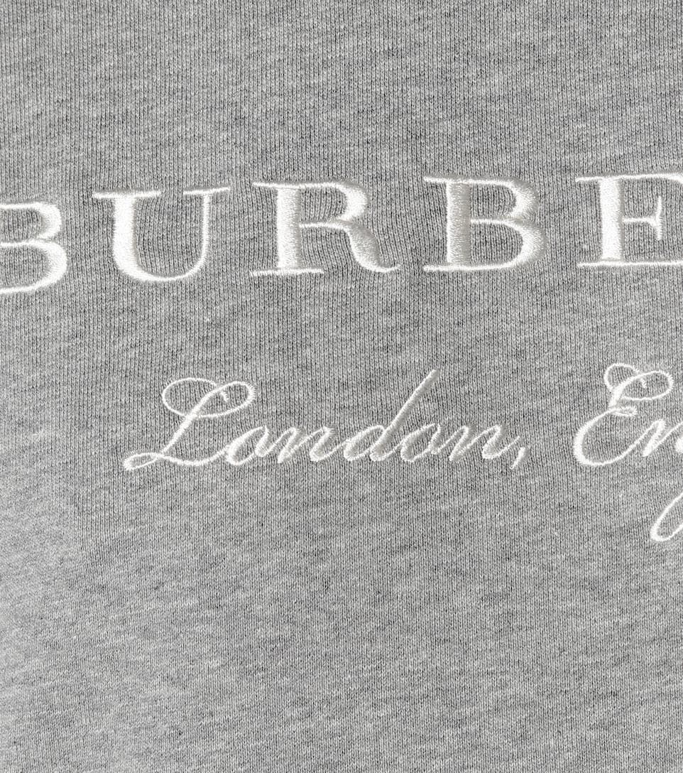 Burberry Kleid im Sweatshirt-Stil