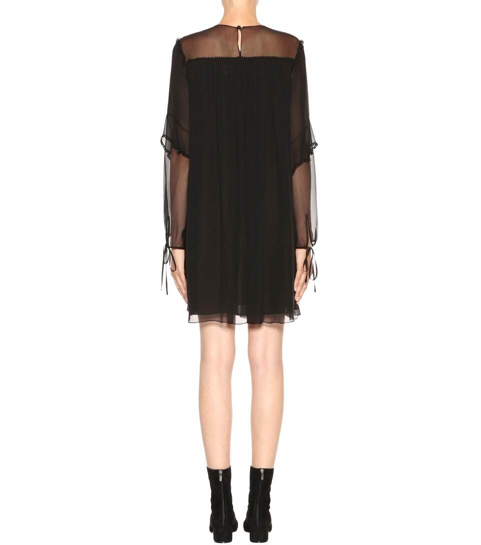 Chloé Exklusiv bei mytheresa.com – Kleid aus Seide