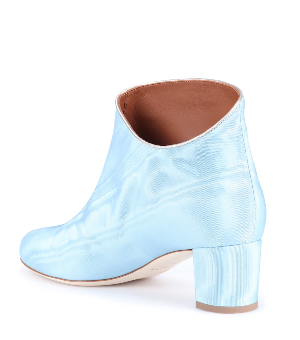 Malone Souliers Exklusiv bei mytheresa.com –  Ankle Boots Eula aus Moiré