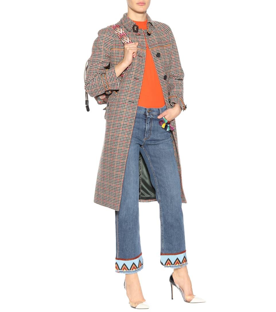 Etro Jeans mit Verzierungen Mit Mastercard Online-Verkauf Visa-Zahlung Online Rabatt Manchester Großer Verkauf Neue Stile Günstig Online aSd5Damz