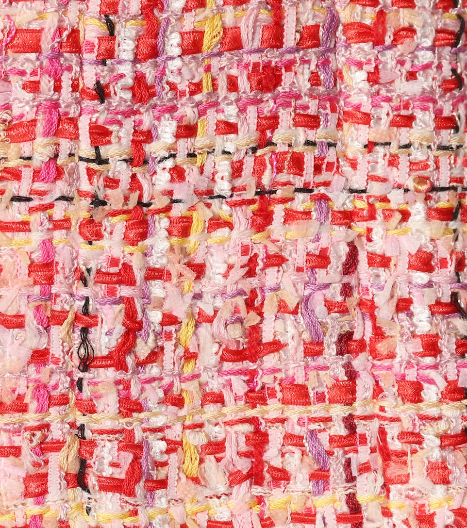 Alexander McQueen Jacke aus Ribbon Tweed