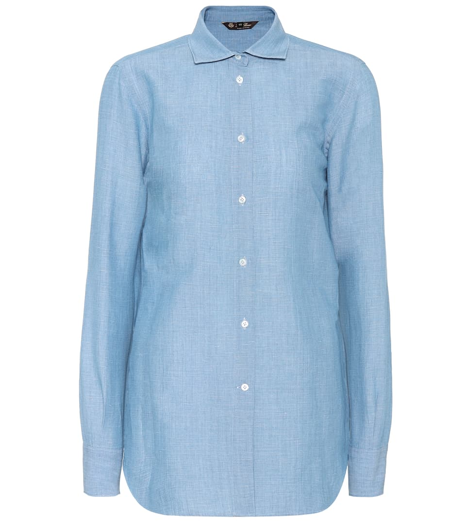 Loro Piana Blouse Kara Cotton From Linen And