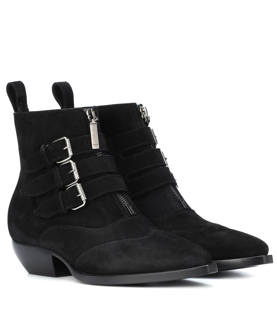 Bottines en cuir Theo 45Saint Laurent wpL0m