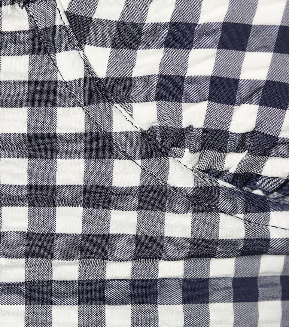 Tory Burch Kariertes Bikini-Oberteil