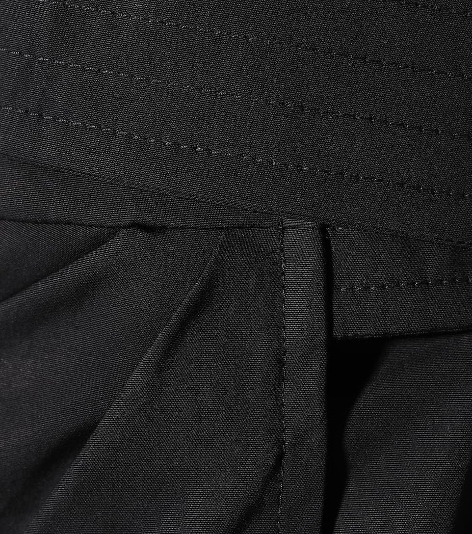 Max Mara Wickelkleid aus Baumwollpopeline Unisex 4gSefK