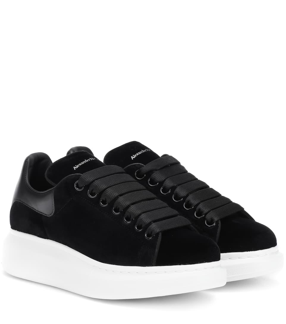 Suede Sneakers by Alexander Mc Queen