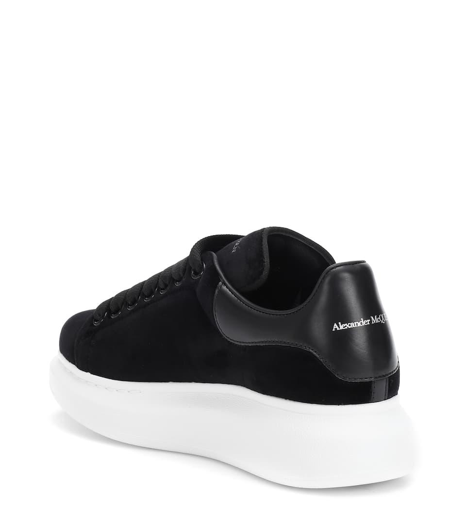 Sneakers In Mcqueen Velluto Alexander OkN8PZnw0X
