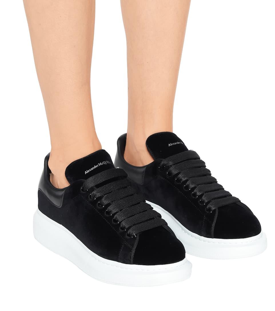 Suede Sneakers - Alexander McQueen