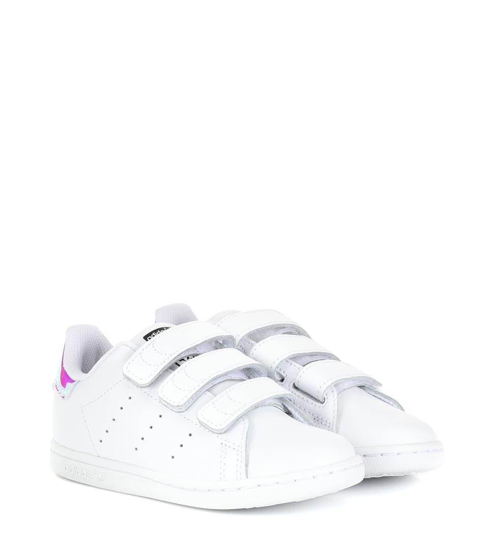 huge discount fb374 7c023 Stan Smith Leather Sneakers - adidas Originals Kids   mytheresa