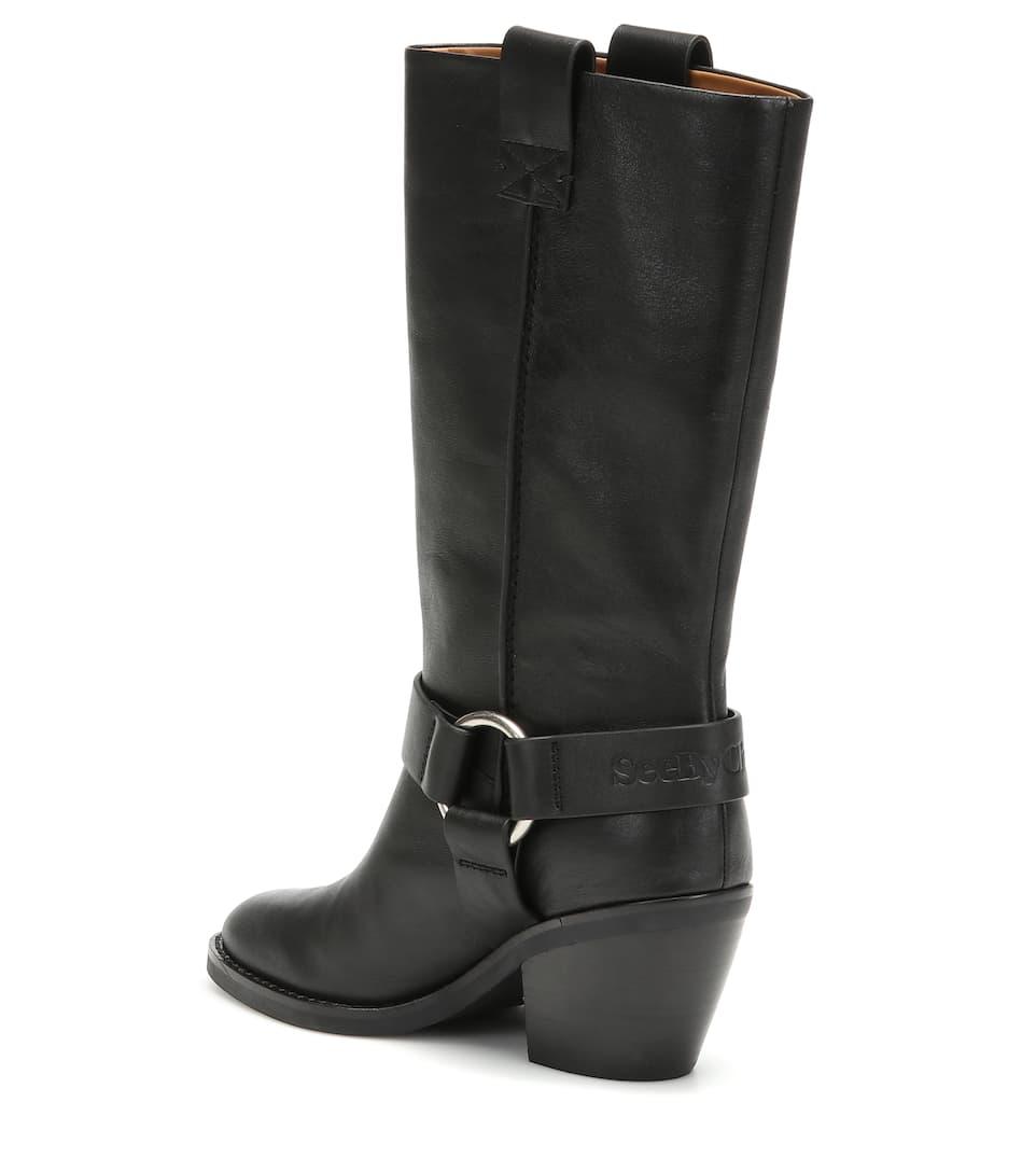 Chloé Texan LederSee Stiefel Art Aus By nrnbsp;p00392247 erdWCoxB