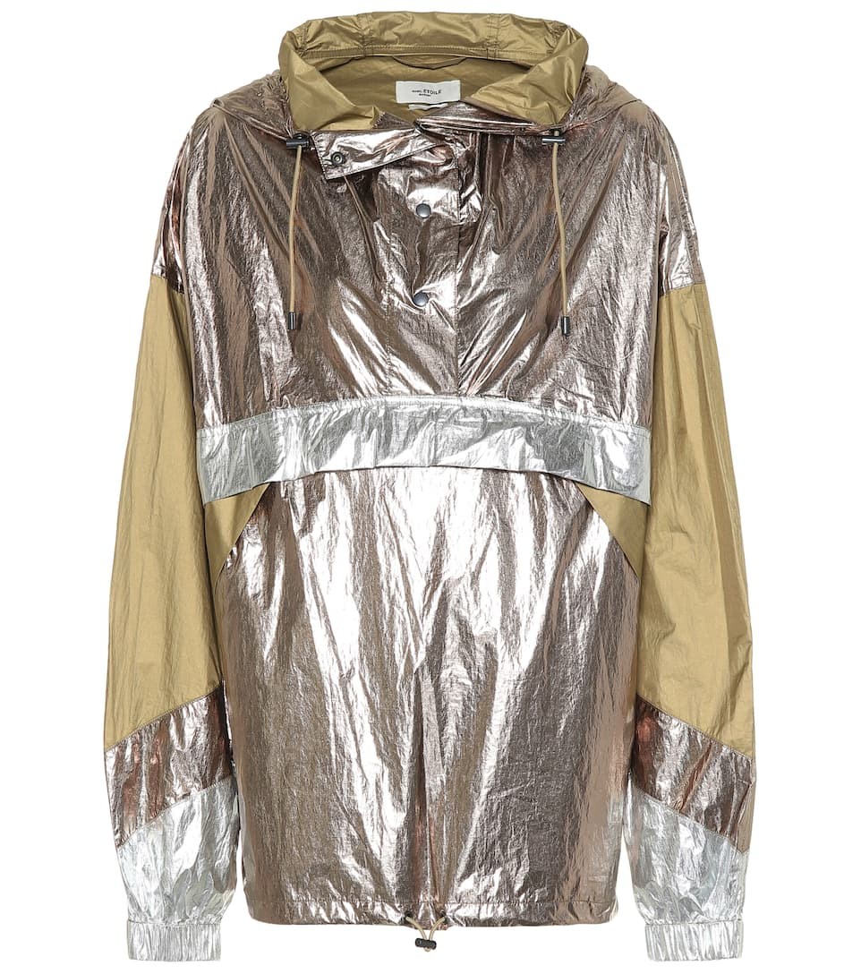 enjoy big discount best website official sale Kizzy metallic rain jacket