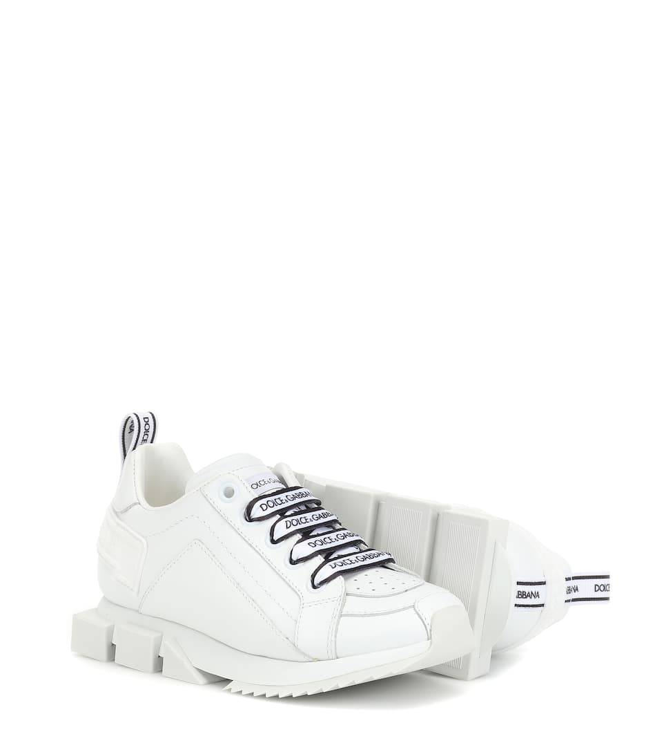 Super King Leather Sneakers | Dolce