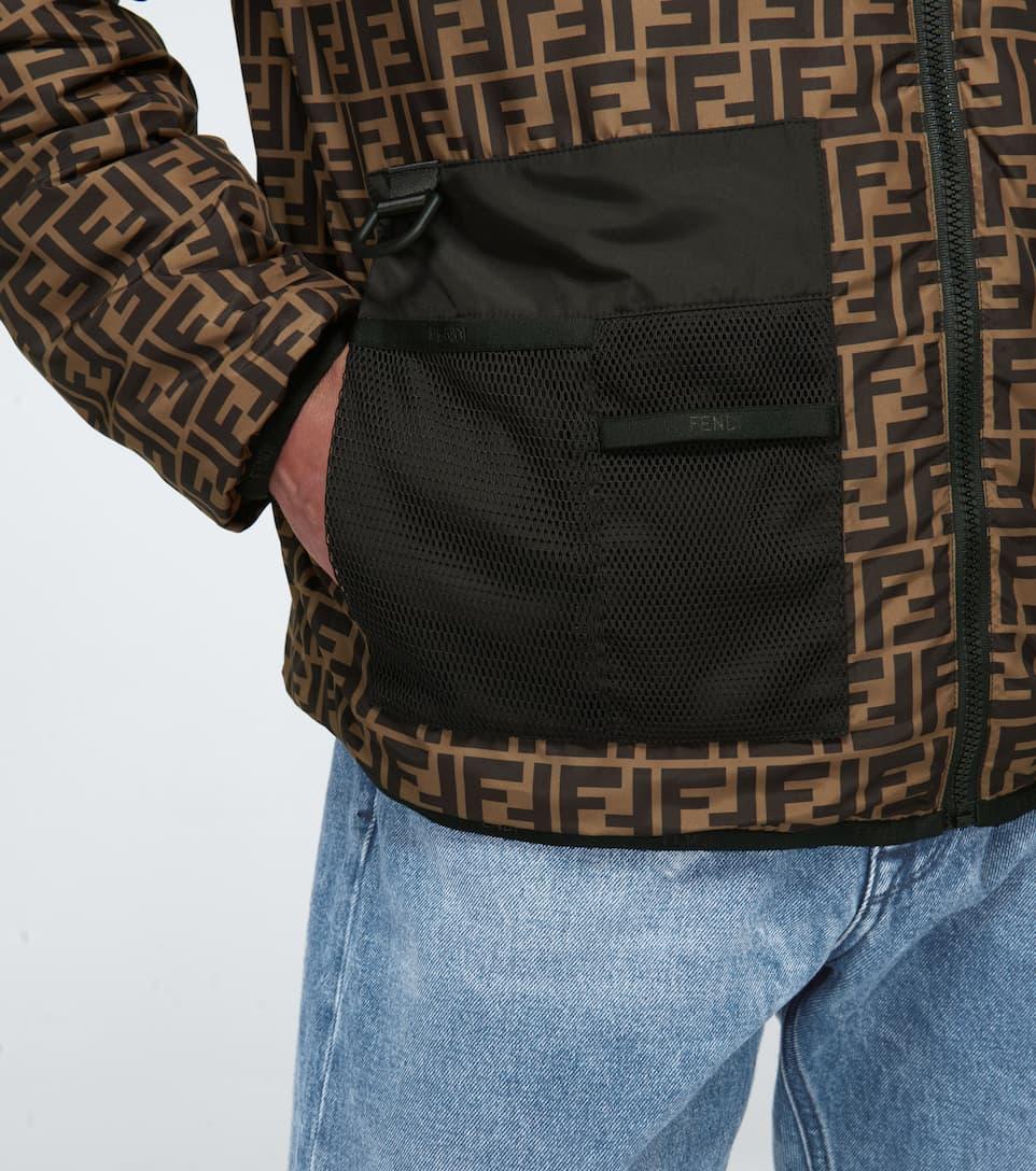 FF padded reversible jacket
