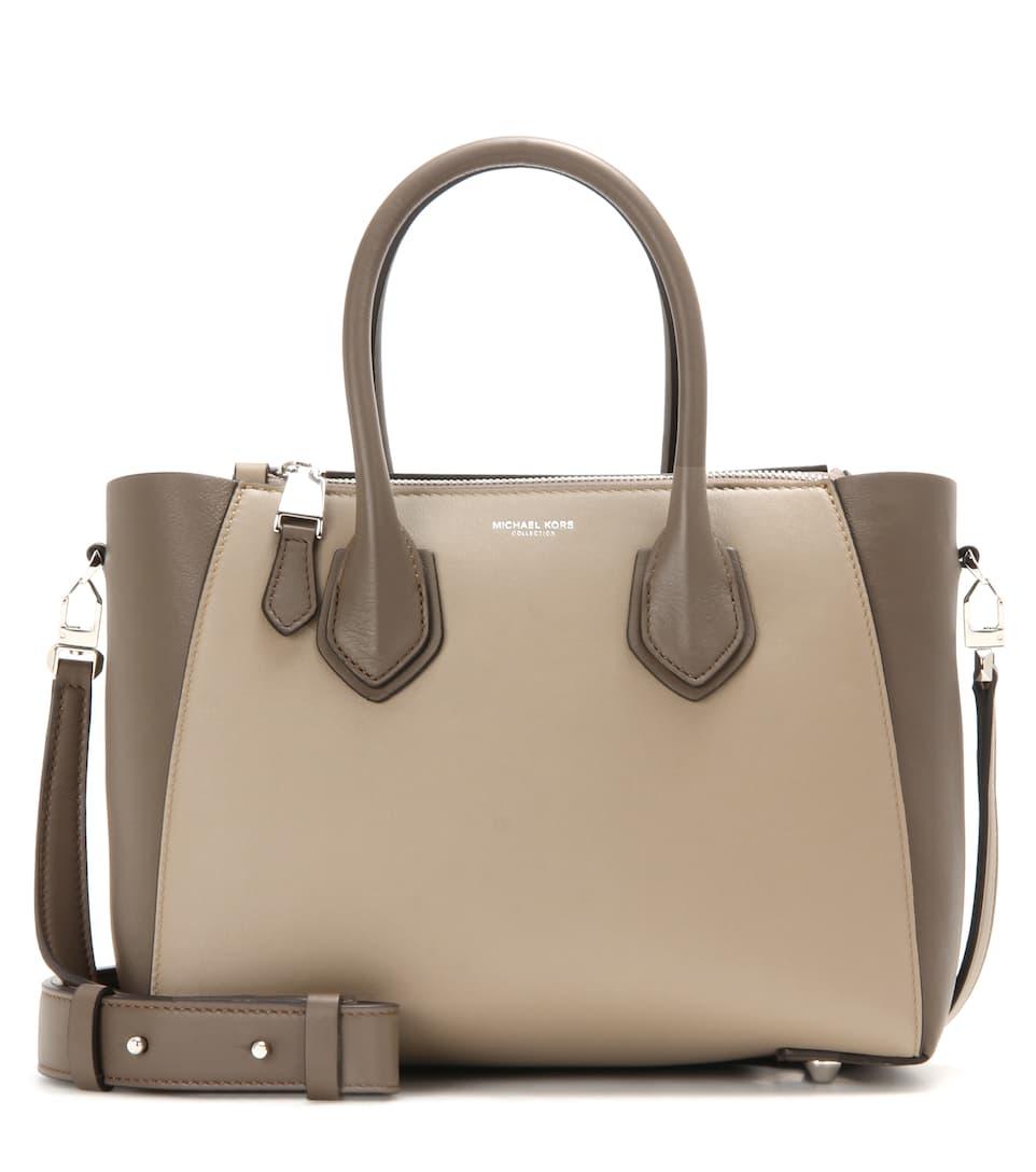 Michael Kors Collection Helena leather shoulder bag