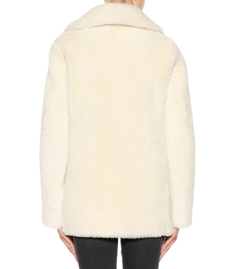 Saint Laurent Schaffelljacke