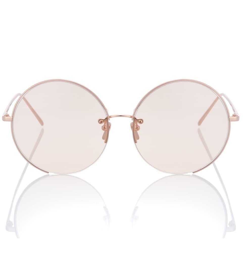 Toutes Les Saisons Disponibles Round Sunglasses - Linda Farrow Qualité Supérieure Sortie Bonne Vente La Vente En Ligne Vente Le Moins Cher 3JzjT