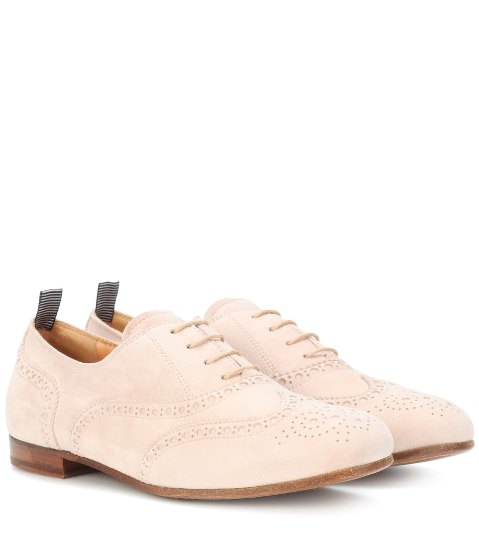 Taylor Suede Oxford Shoes, Female