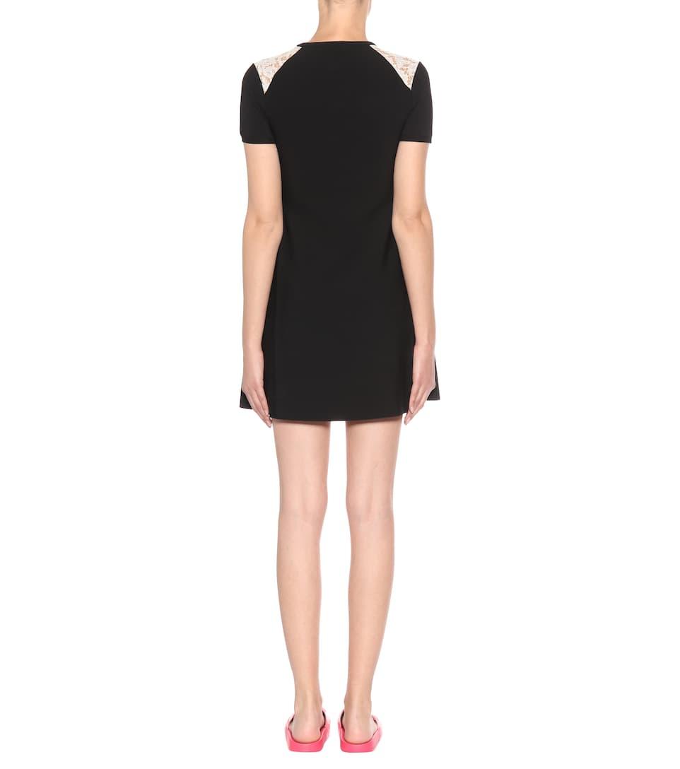 Valentino Verziertes Minikleid