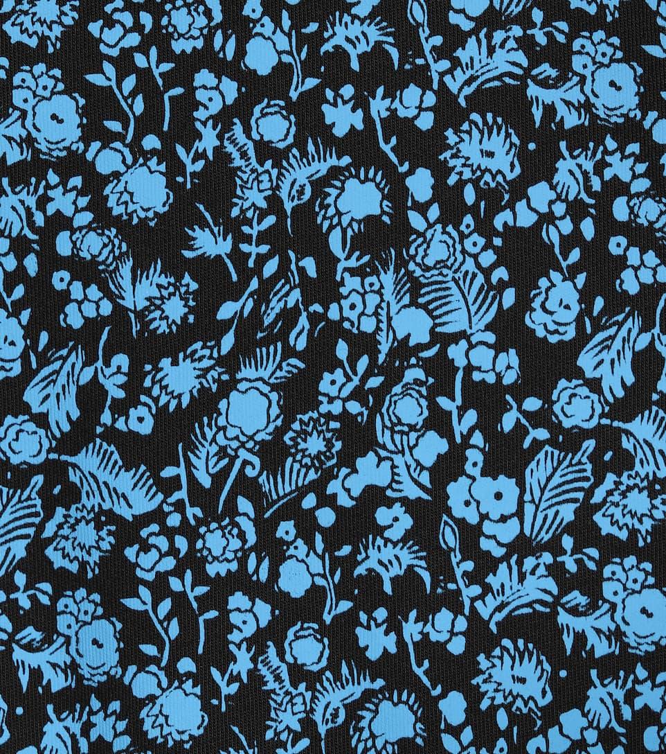 Victoria Victoria Beckham Bedrucktes Top aus Baumwolle