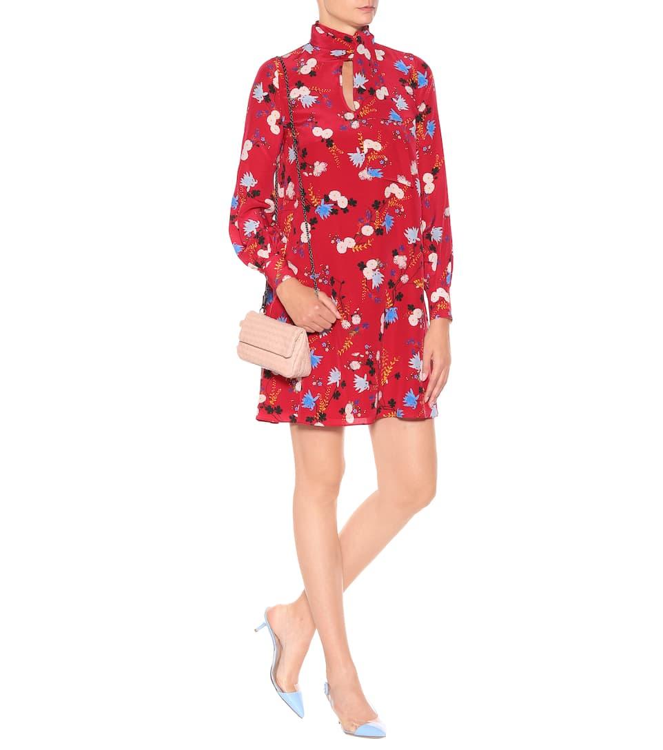 Erdem - Robe en soie imprimée Gwendoline Réduction De Sortie En Vente En Ligne Zpmu3