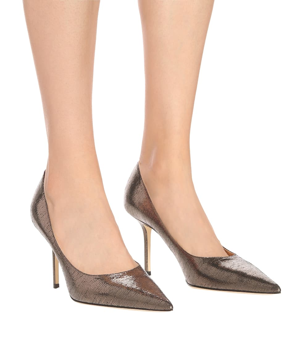 Pumps Love 85 in pelle stampata