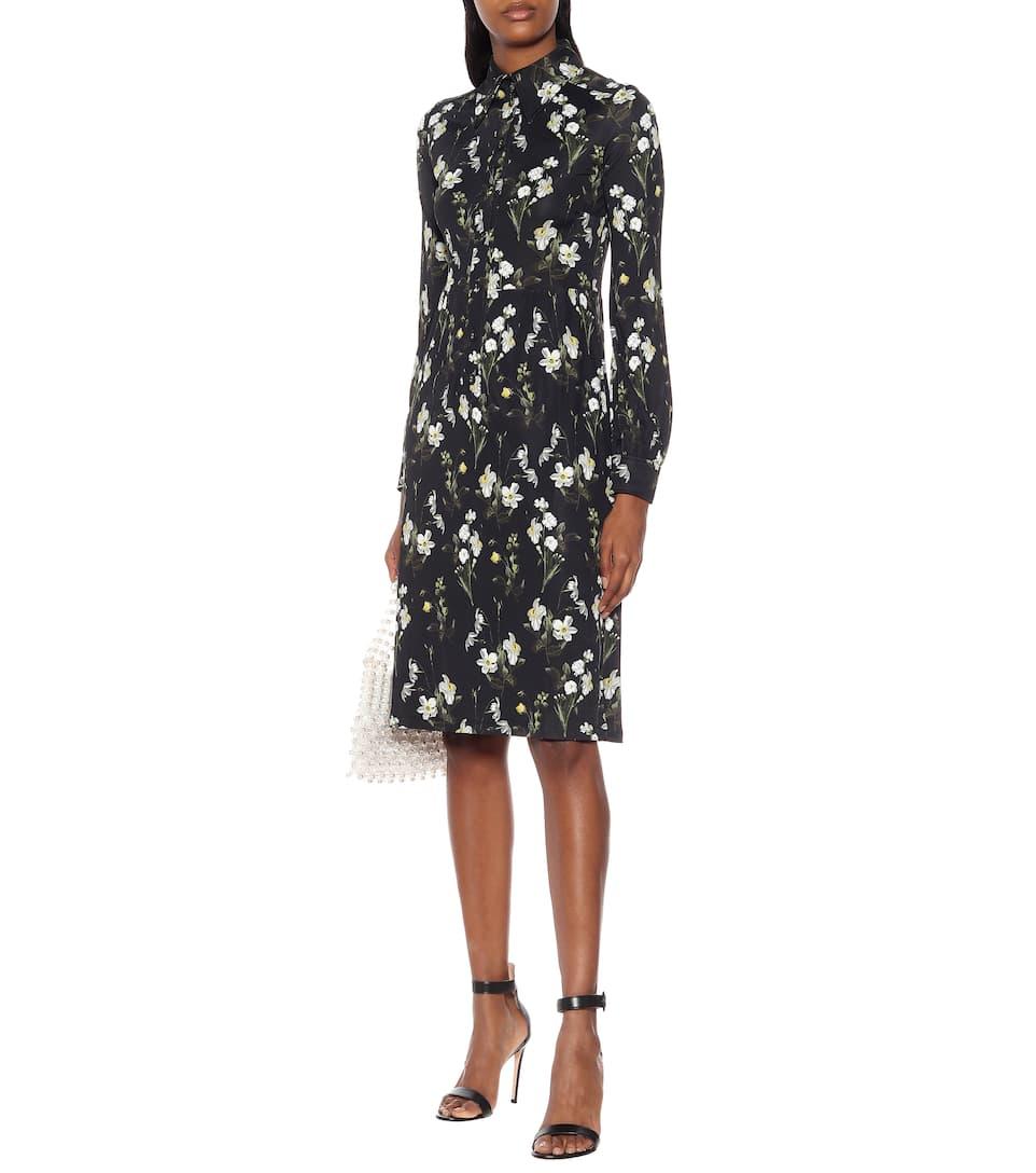 Tullio Floral Jersey Midi Dress - Erdem