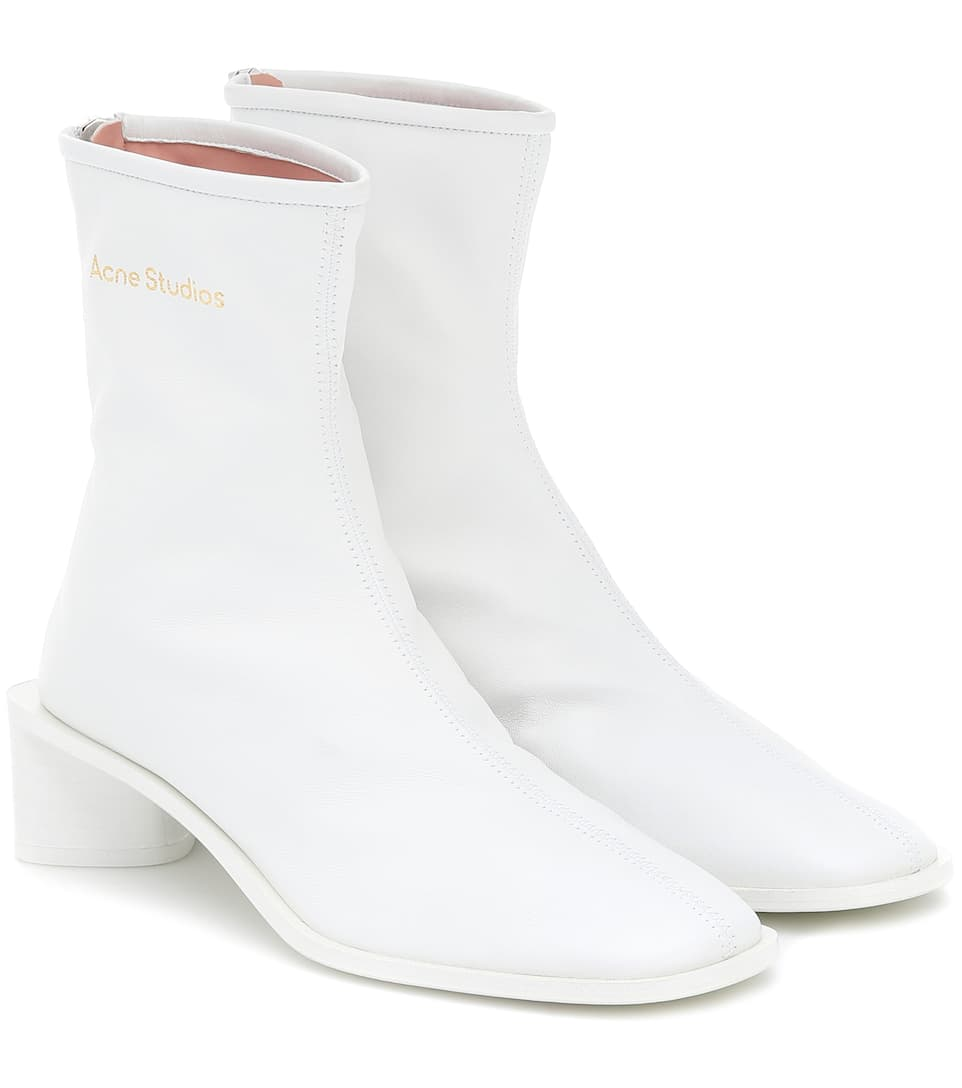 Acne Studios - Leather ankle boots