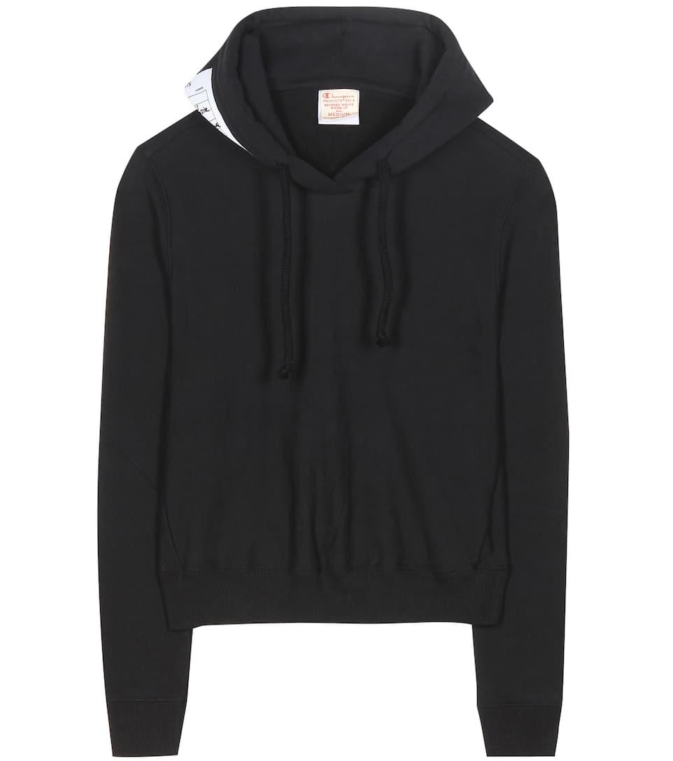3e8dfac7258c Vetements - x Champion cotton sweatshirt