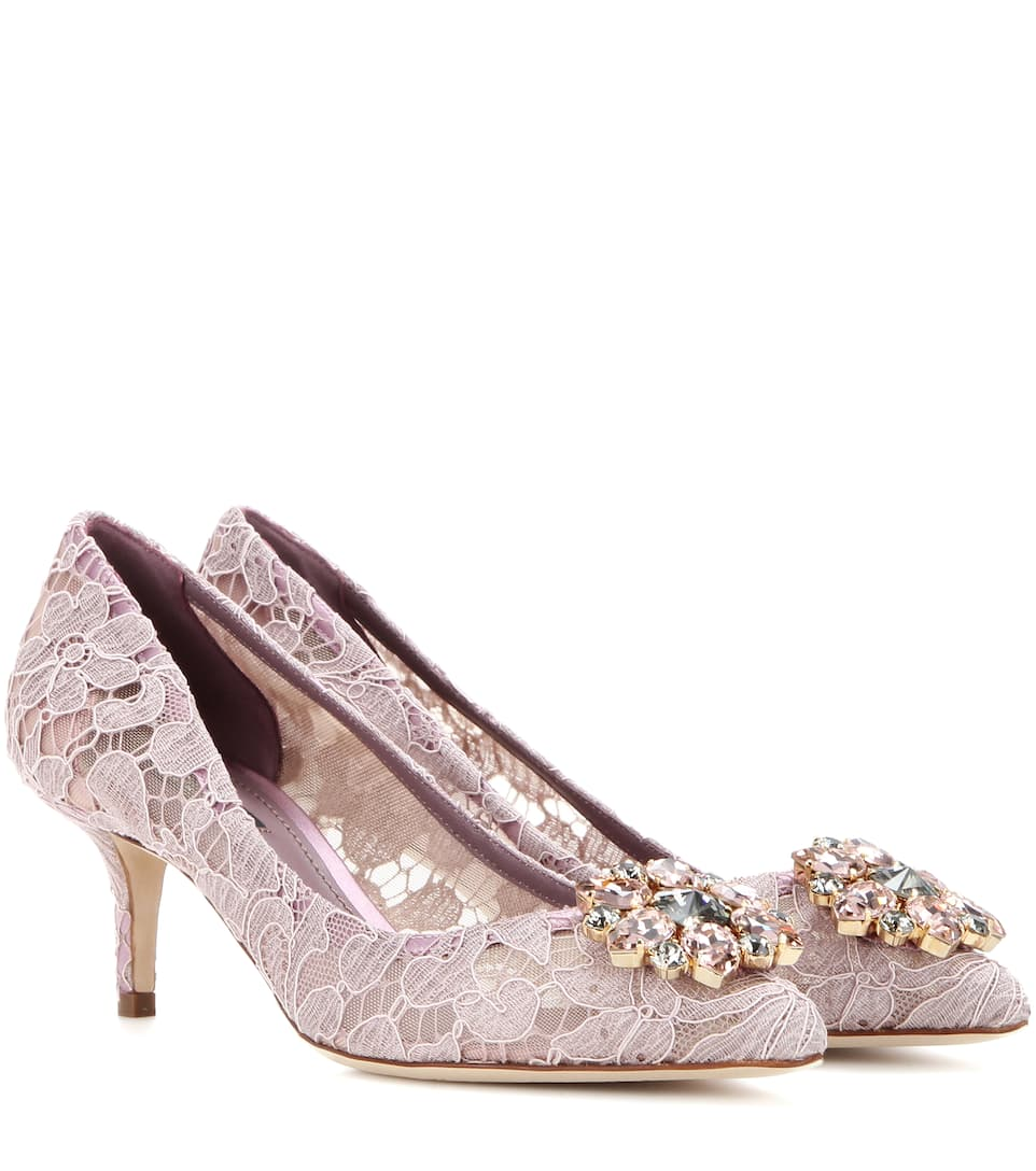 Bellucci embellished lace pumps Dolce & Gabbana RB1x5