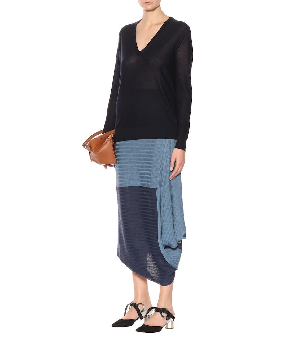 lino Azul asimétrica Falda de Aciano JW Anderson wBqPIxER