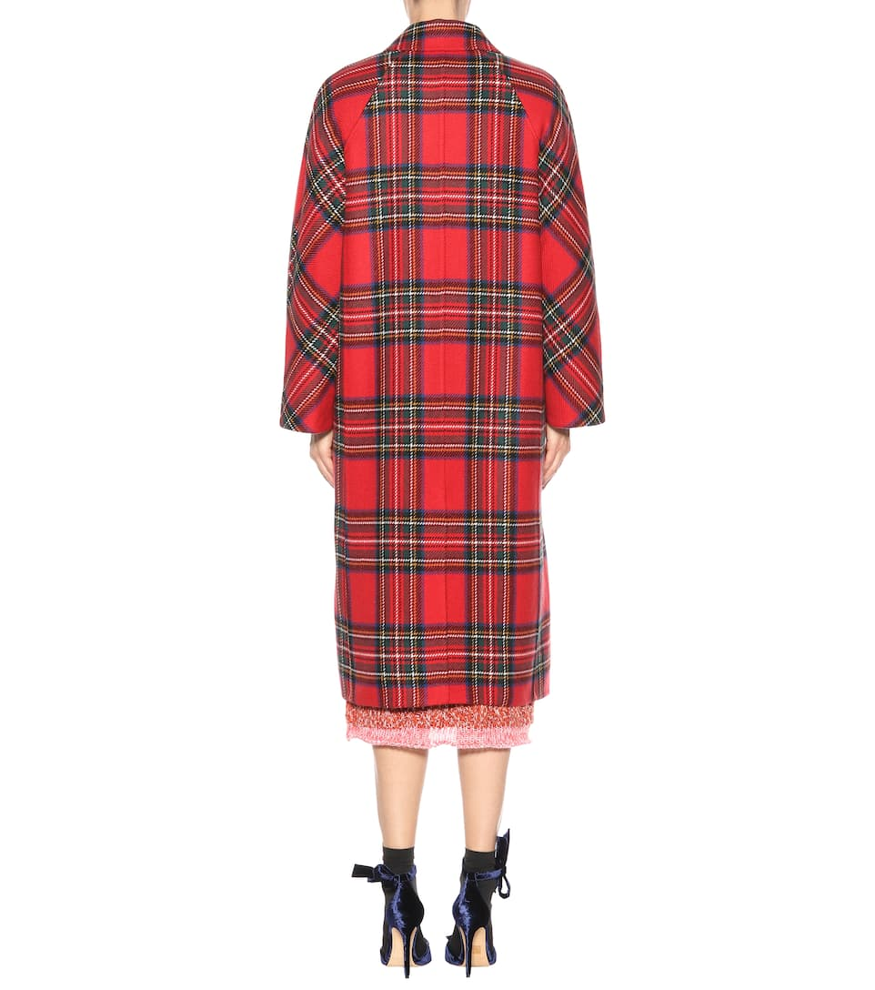 Burberry Coat Wool And Cashmere