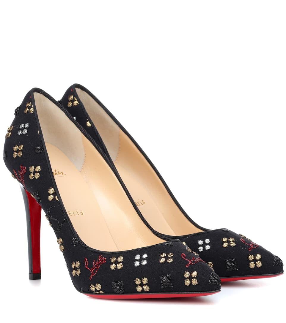 Pigalle 100 Jacquard Pumps by Christian Louboutin