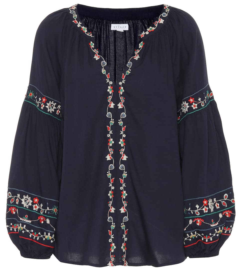 Carina embroidered blouse