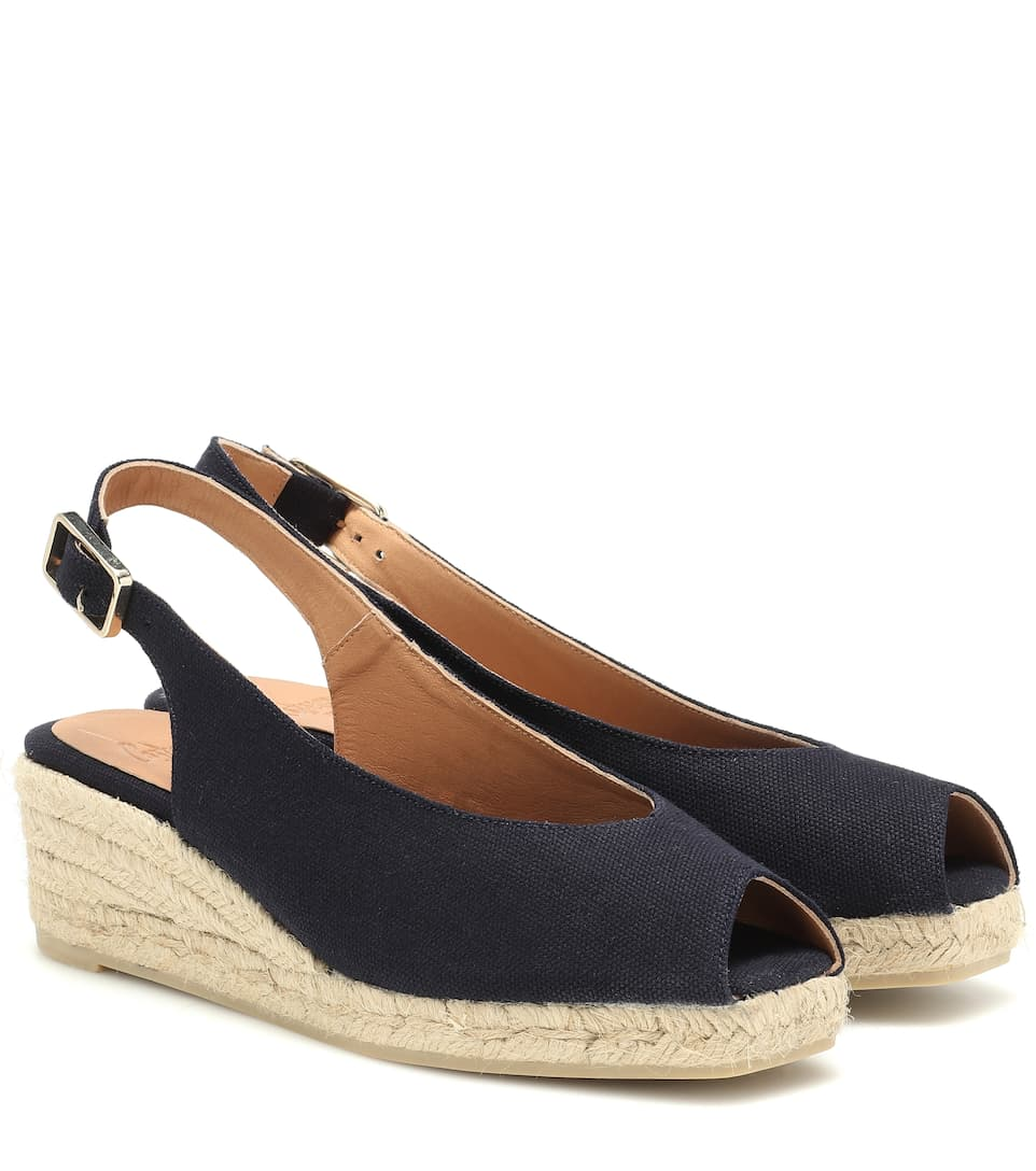 f746c911742 Dosalia canvas wedge espadrilles