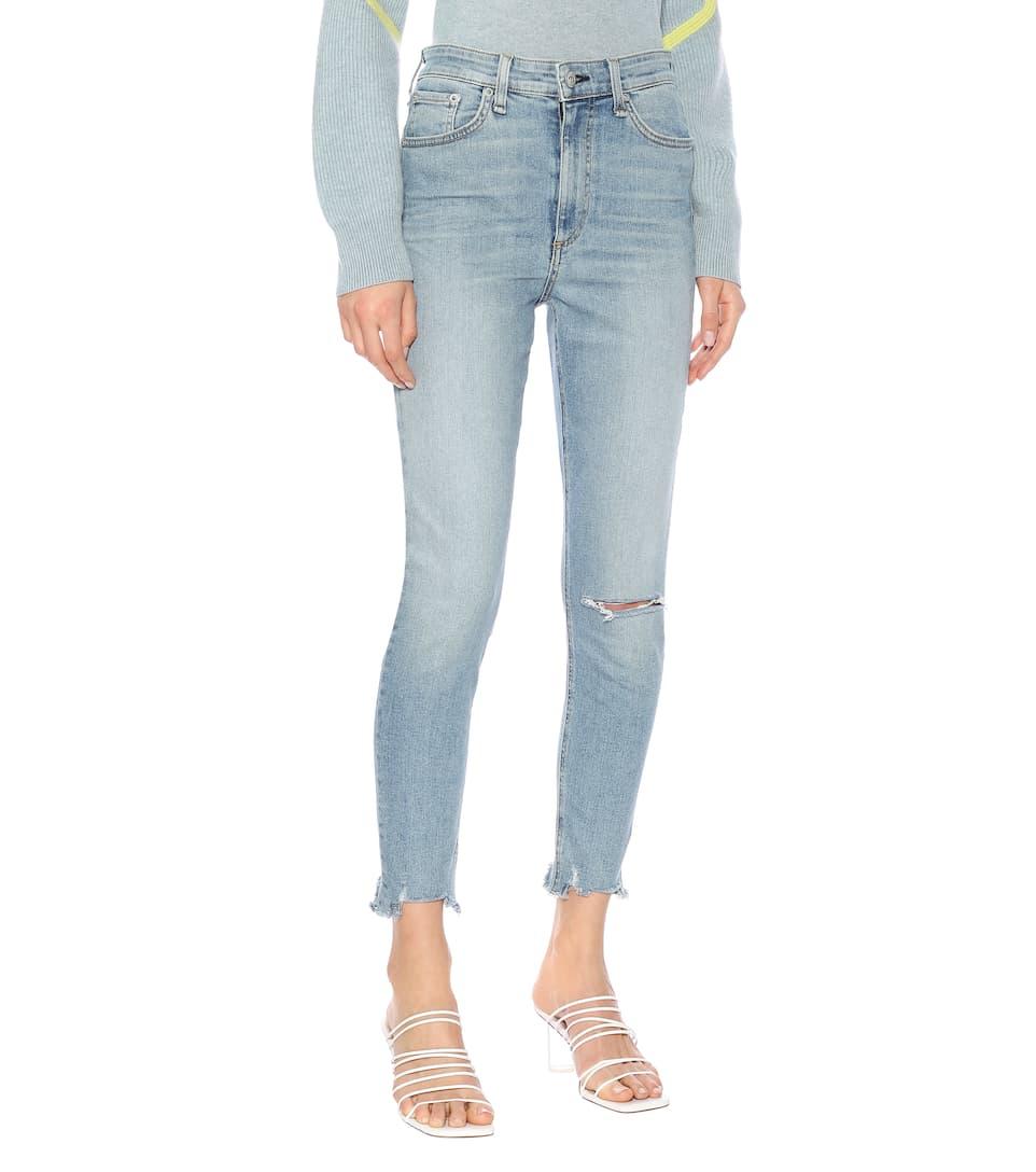 Rag & Bone - Nina high-rise skinny jeans