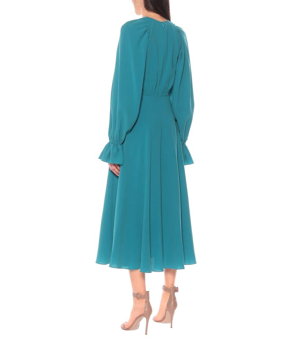 Roksanda - Raima crêpe midi dress
