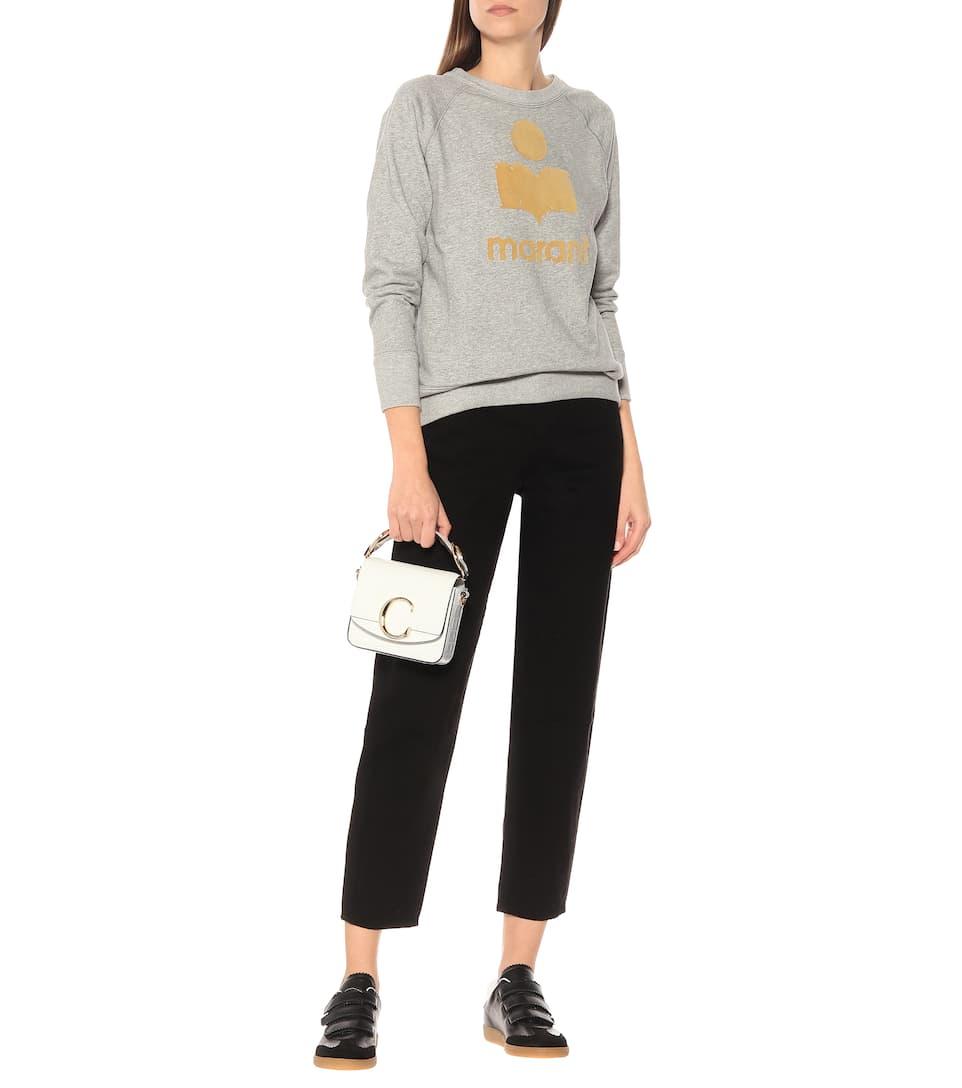 Milly Cotton-Blend Sweatshirt | Isabel Marant, Étoile - Mytheresa