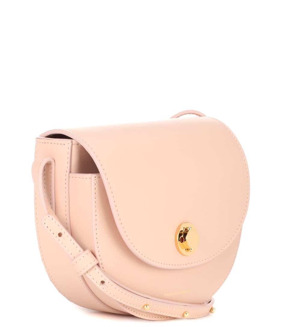 Mansur Gavriel Saddle Mini leather shoulder bag