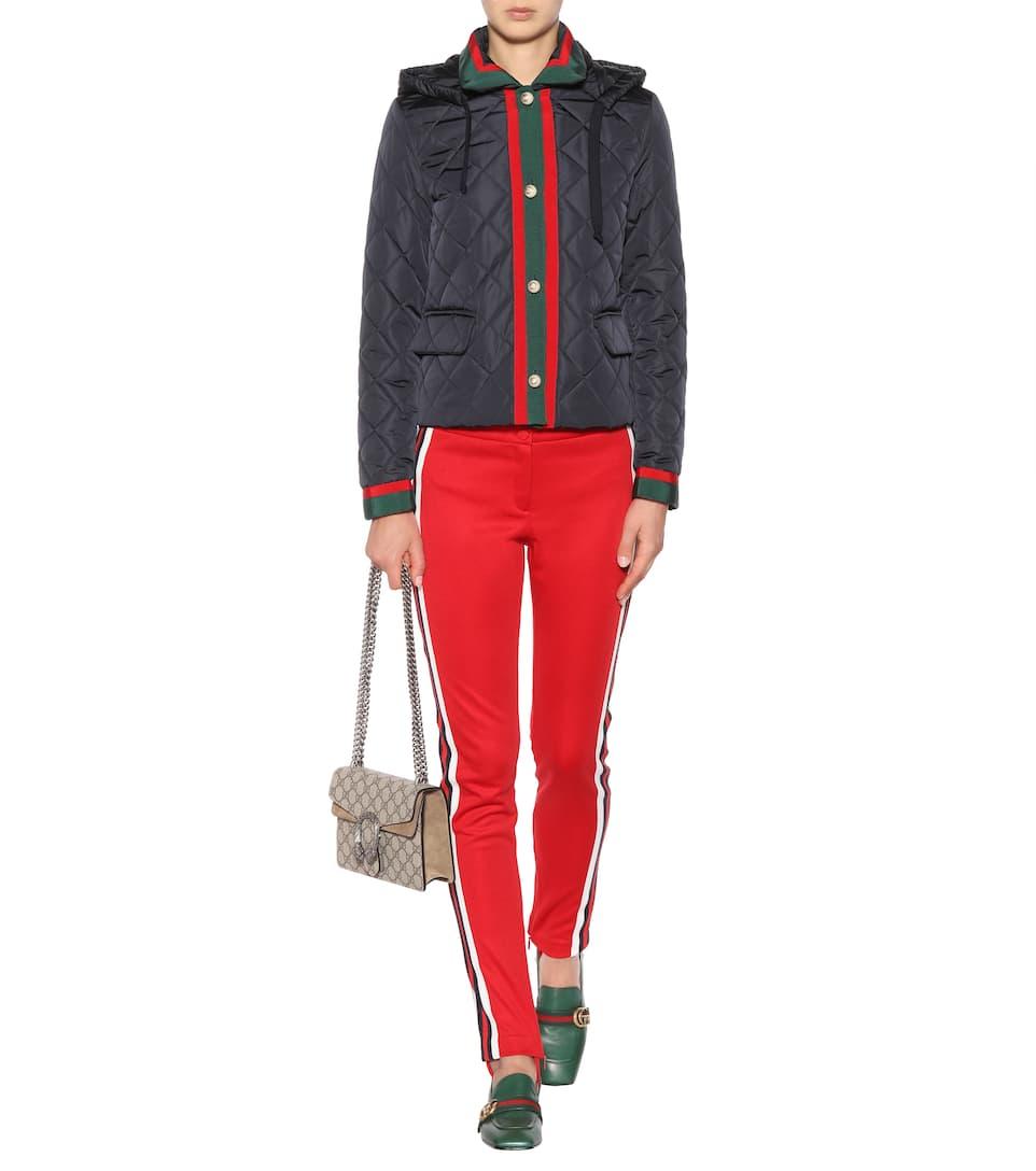 Gucci Gesteppte Jacke  Wo Zu Kaufen Freies Verschiffen 100% Original Original Auslass p0dmZpxyw